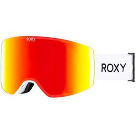 Roxy Storm Snowboard Goggles Women, bright white